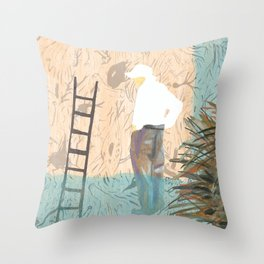 Forgetting Throw Pillow