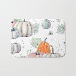 Autumn Pumpkin Pie Bath Mat