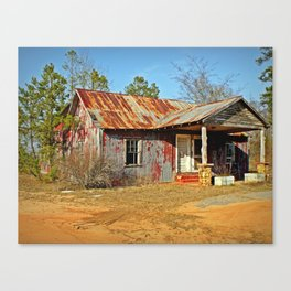 Abandoned Motel Canvas Print
