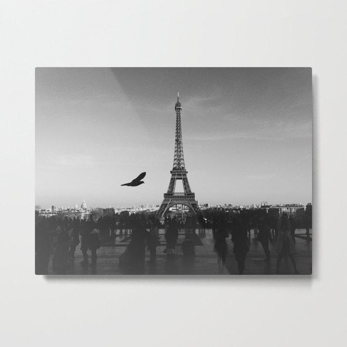Eiffel Tower (Paris, France) Metal Print
