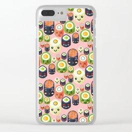 Cute Sushi Clear iPhone Case