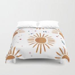 sunbursts Duvet Cover