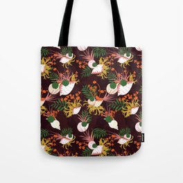 Terrarium purple Tote Bag