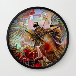 Fenghuang Wall Clock