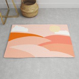 Desert Sun- Layered Rug