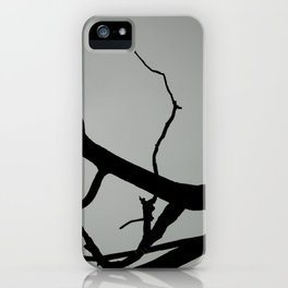 TREE ON JOANNA BALD iPhone Case
