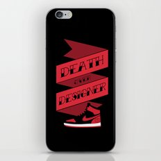 Death Over Designer iPhone & iPod Skin