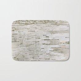 Birch Bark Skin Bath Mat