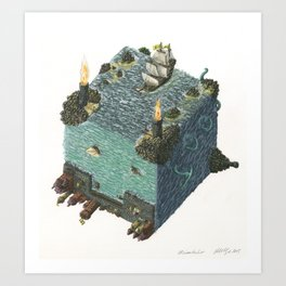 Coming Home (Heimkehr) Art Print