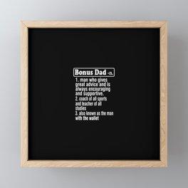 Dad Framed Mini Art Print