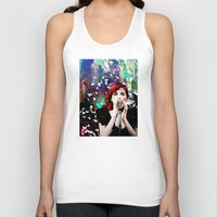 transistor Tank Tops featuring Transistor - Before We All Become One… by Danielle Tanimura