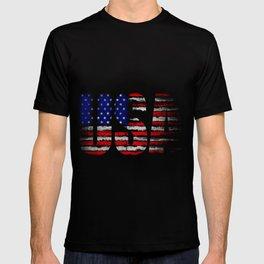 Distressed USA Flag T-shirt