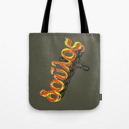 Doulos = Slave Tote Bag