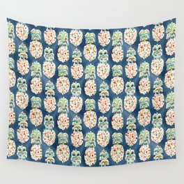 PINEAPP FOR THAT Colorful Pineapples Wall Tapestry