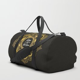 Live And Let Live - Dark Duffle Bag