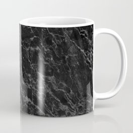 BLACK MARBLE - TEXTURE - MATERIAL - SURFACE Coffee Mug