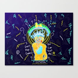 The Games People Play Canvas Print