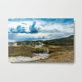Sulfuric Pools Metal Print