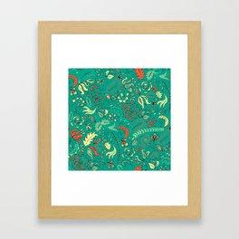 Vintage Lace Framed Art Print