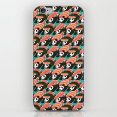 Sushi Panda Pattern iPhone & iPod Skin