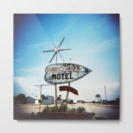 Monterey Motel Metal Print
