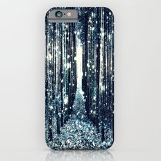 Magical Forest Teal Gray Elegance iPhone 6s Slim Case