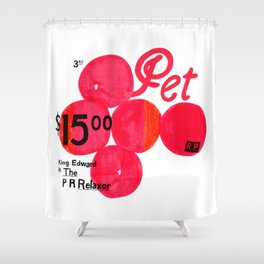 The Relaxor Shower Curtain