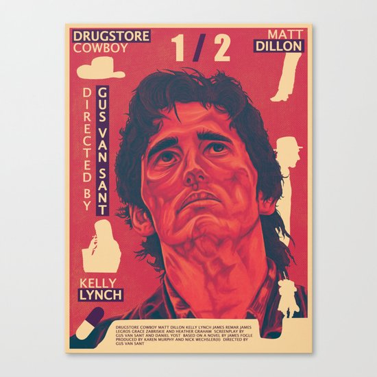 Drugstore Cowboy Canvas Print