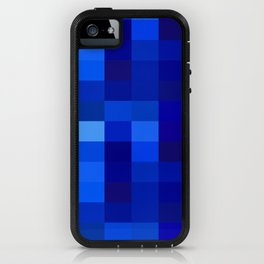 Blue Mosaic iPhone Case