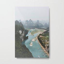 Xingping, China IV Metal Print