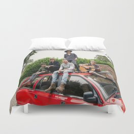 1D FOUR photoshoot Duvet Cover