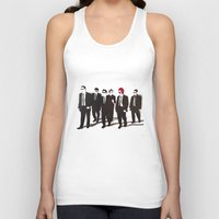 reservoir dogs Tank Tops featuring Reservoir Ronald by Stewart S
