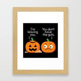 Gourd Riddance Framed Art Print