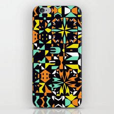 Square 3 color option 1  iPhone & iPod Skin
