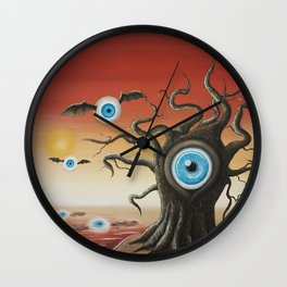 Clarity in Desertion Wall Clock