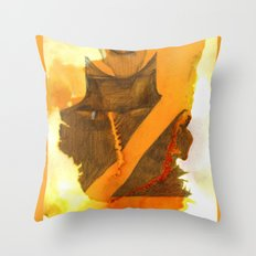 Ms Marvel Throw Pillow