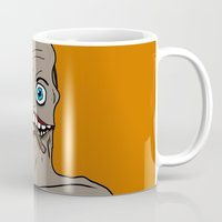 cigarette Mugs featuring cigarette by EetrsWorld