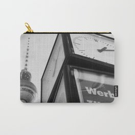 Berlin Clock BW Carry-All Pouch