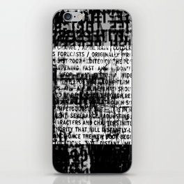 DUPLICITY / 05 iPhone Skin