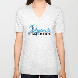 RYAN's Future Girlfriend Unisex V-Neck