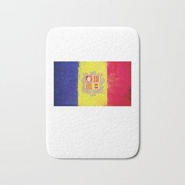 Andorra Flag design | Andorran design Bath Mat