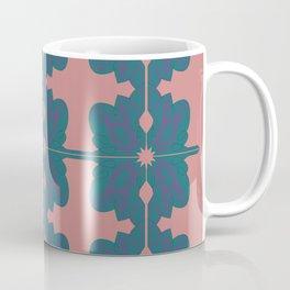 Luxury vint. mandalas BLUE PINK Coffee Mug