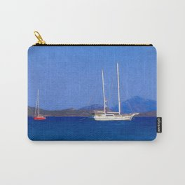 Sailing Ship Art Carry-All Pouch