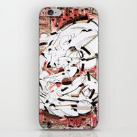 friendship iPhone & iPod Skins featuring Friendship by 5wingerone