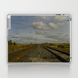 into the middle of nowhere Laptop & iPad Skin