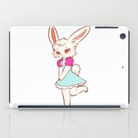 ruby iPad Cases featuring Ruby by Chez_Art