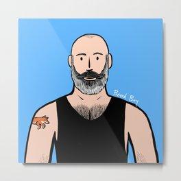 Beard Boy: Philippe Metal Print