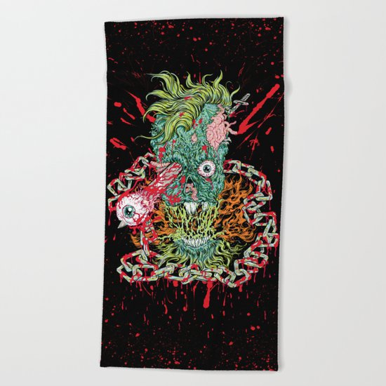 Dead Chains Beach Towel