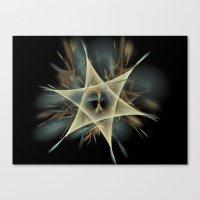 pentagram Canvas Prints featuring Pentagram by JanUFotO