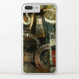 Historic Ship Clear iPhone Case